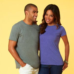 Unisex Fine Jersey Fitted T-Shirt Thumbnail