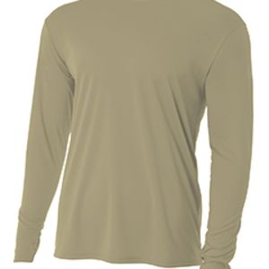 Long-Sleeve Cooling Performance Crew Neck T-Shirt Thumbnail